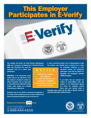 E-Verify Link