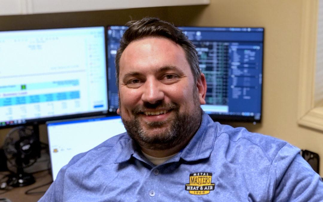 Aaron Mueller, our in-house mechanical engineer